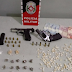 Dupla responsável por comandar tráfico de drogas em bairro da grande João Pessoa é detida