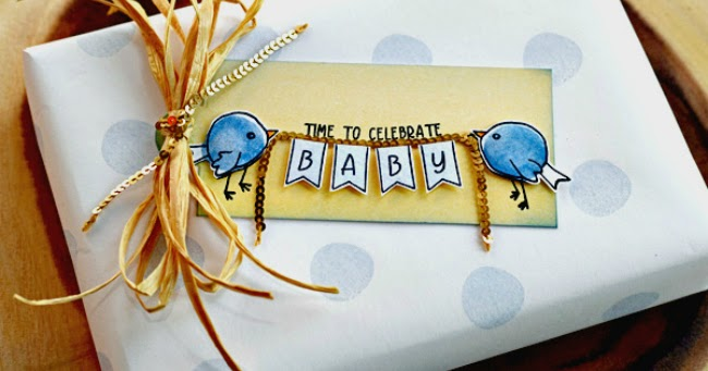 Dear Paperlicious Concord Amp 9th Baby Gift Wrap And Tag