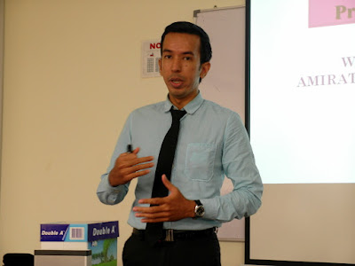 High Impact Presentation Skills by Azmi Shahrin at AEON on 28-29 Sept 2016