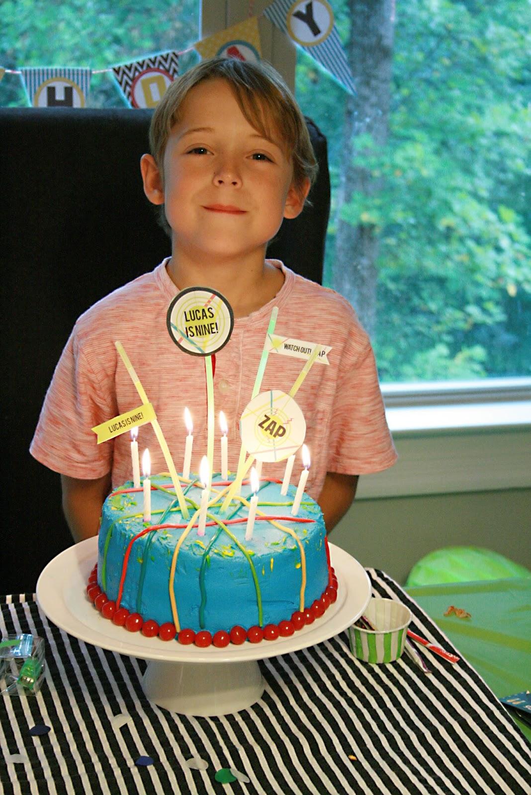 Darling Darleen Laser Tag Birthday Party