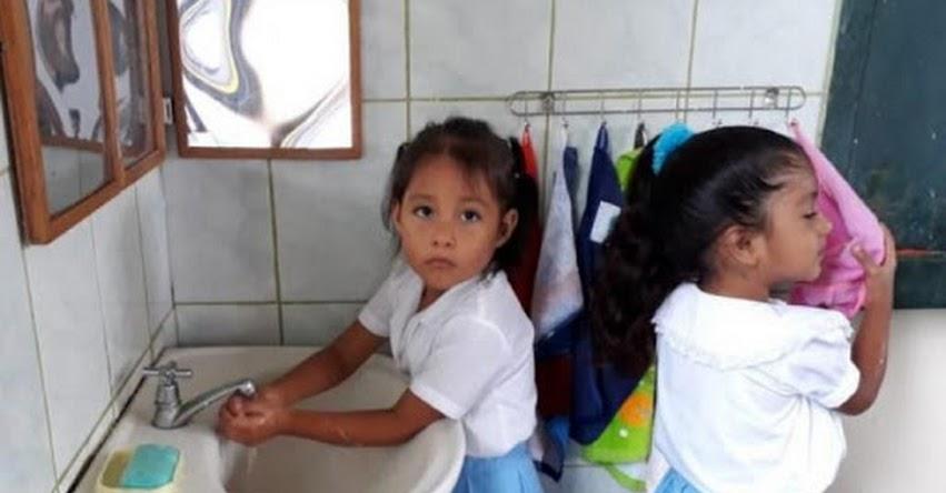 En Tumbes y Cajamarca, Qali Warma fortalece práctica de lavado de manos - www.qaliwarma.gob.pe