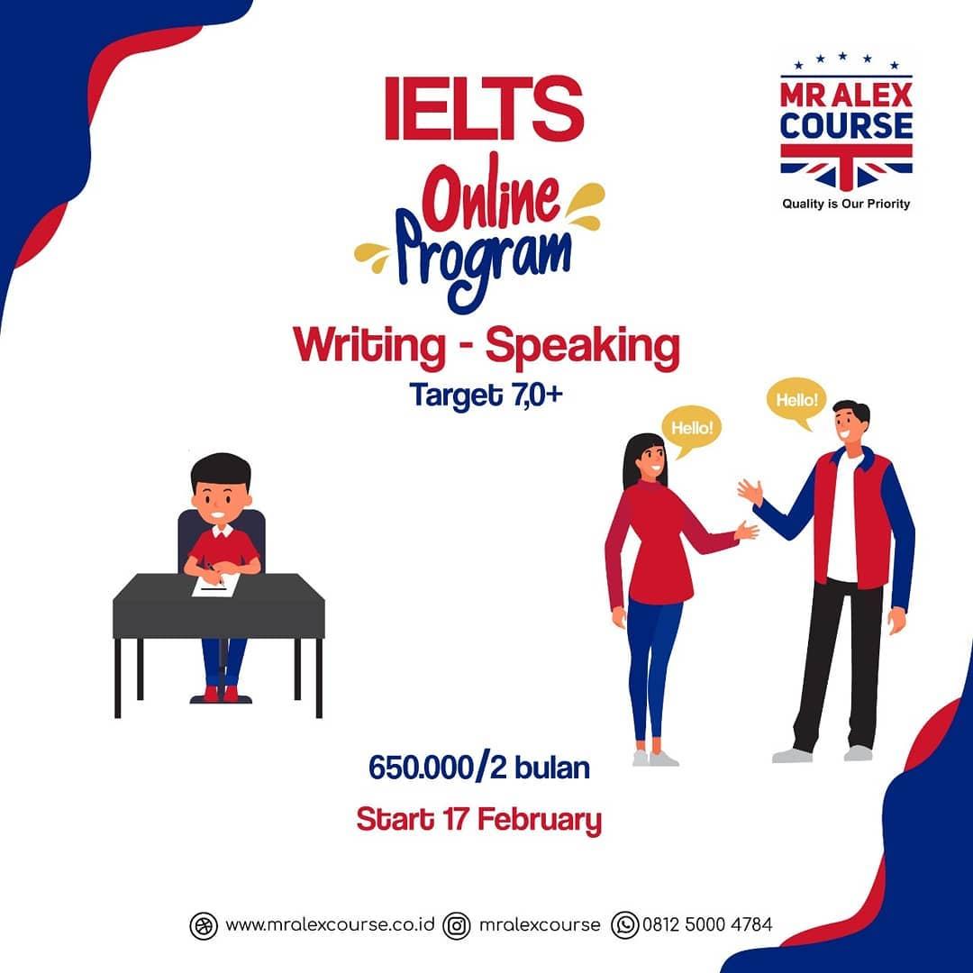 Kursus IELTS Online di Jakarta