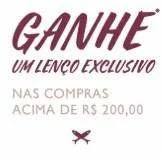 Promoção Hering 2019 Compre Ganhe Lenço