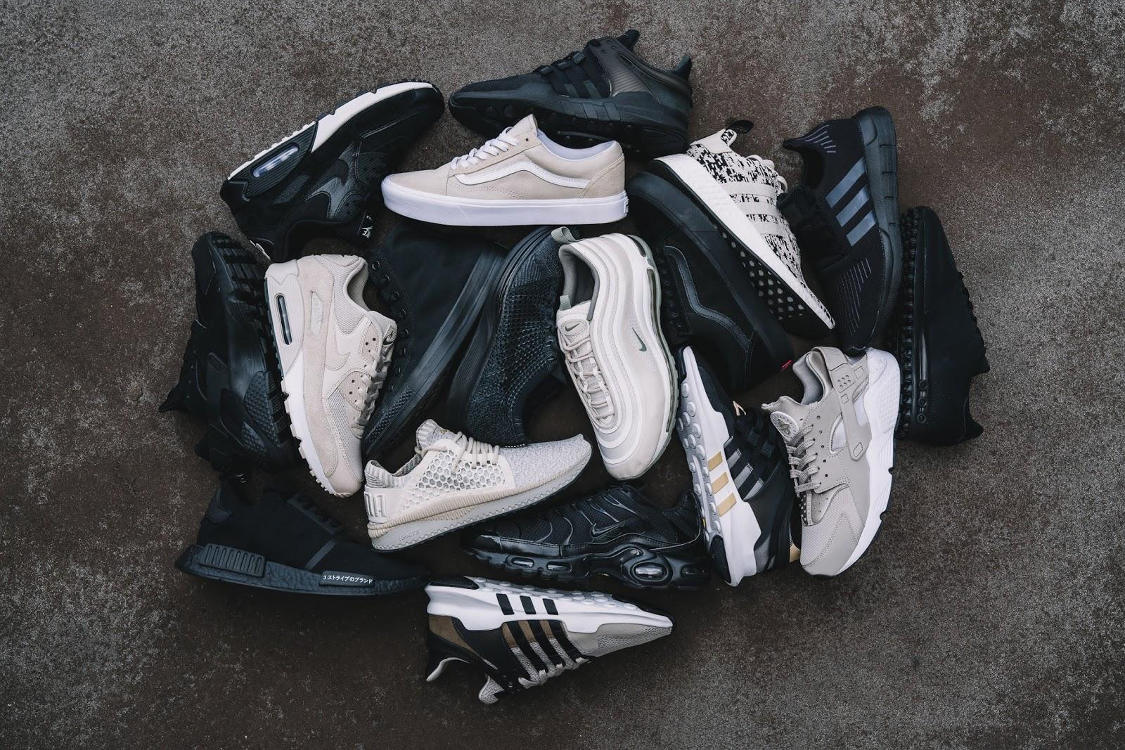 Black & Sand | Die neue Kollektion von Foot Locker Europe für den Herbst 2017