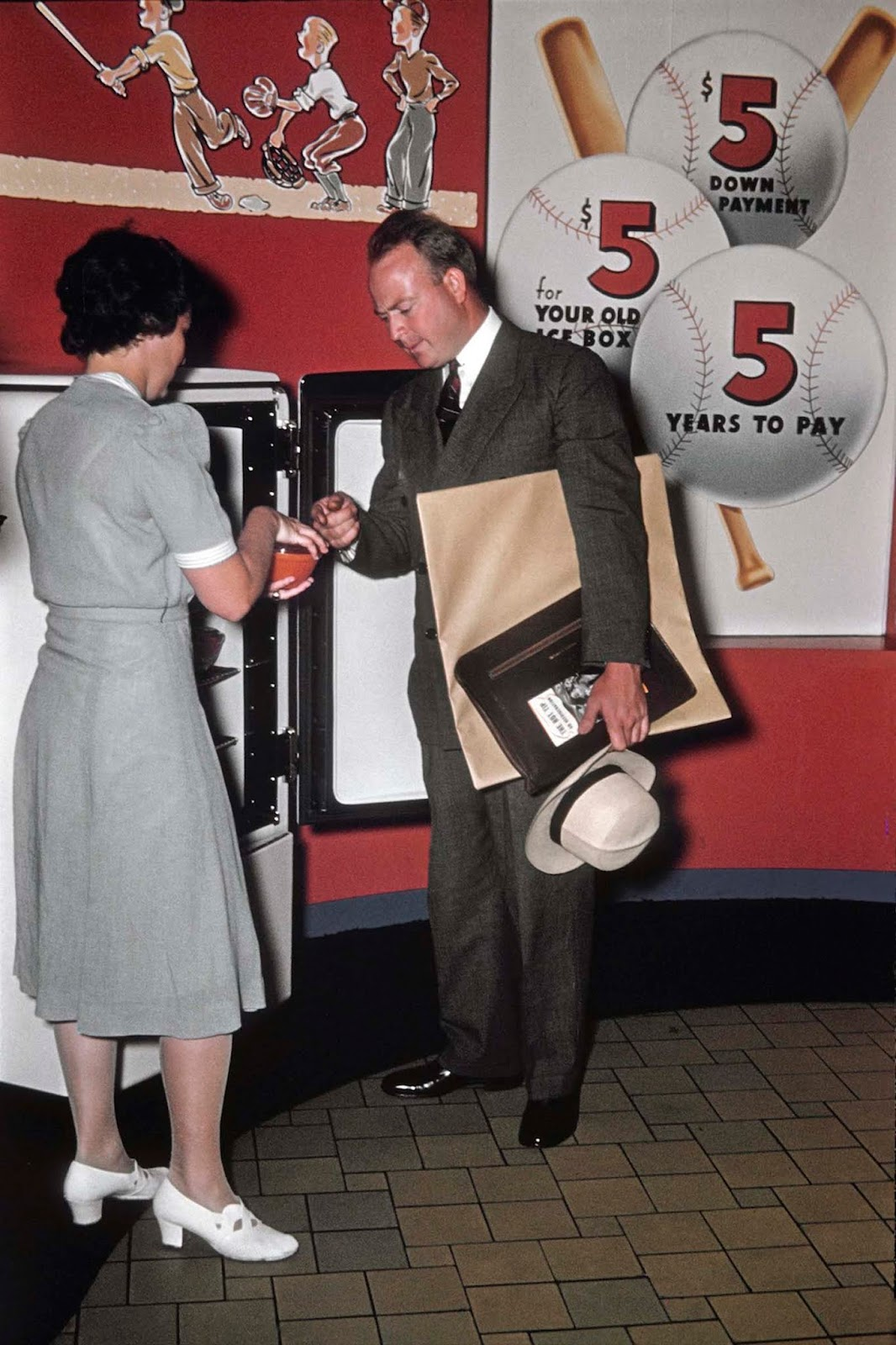 An ad man clutches the book
