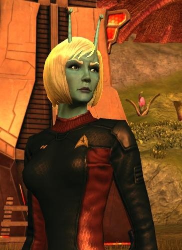 A Steely-eyed Andorian