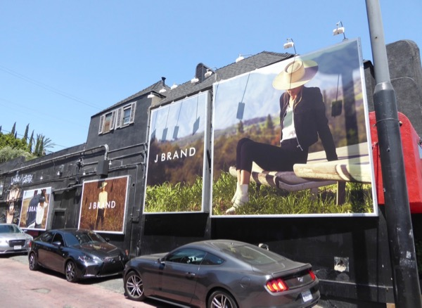 J Brand Summer 2017 billboards