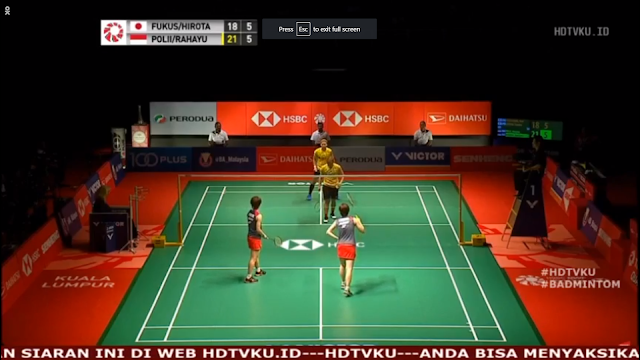 Final Malaysia Masters 2019 Women Double