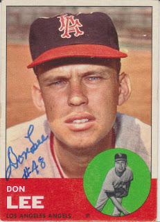 1963 Topps, Don Lee