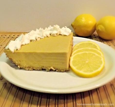 Home Sweet Homestead - Lemon Cream Pie