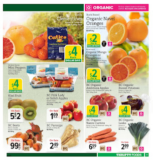 Thrifty Foods Flyer January 1 – 10, 2017