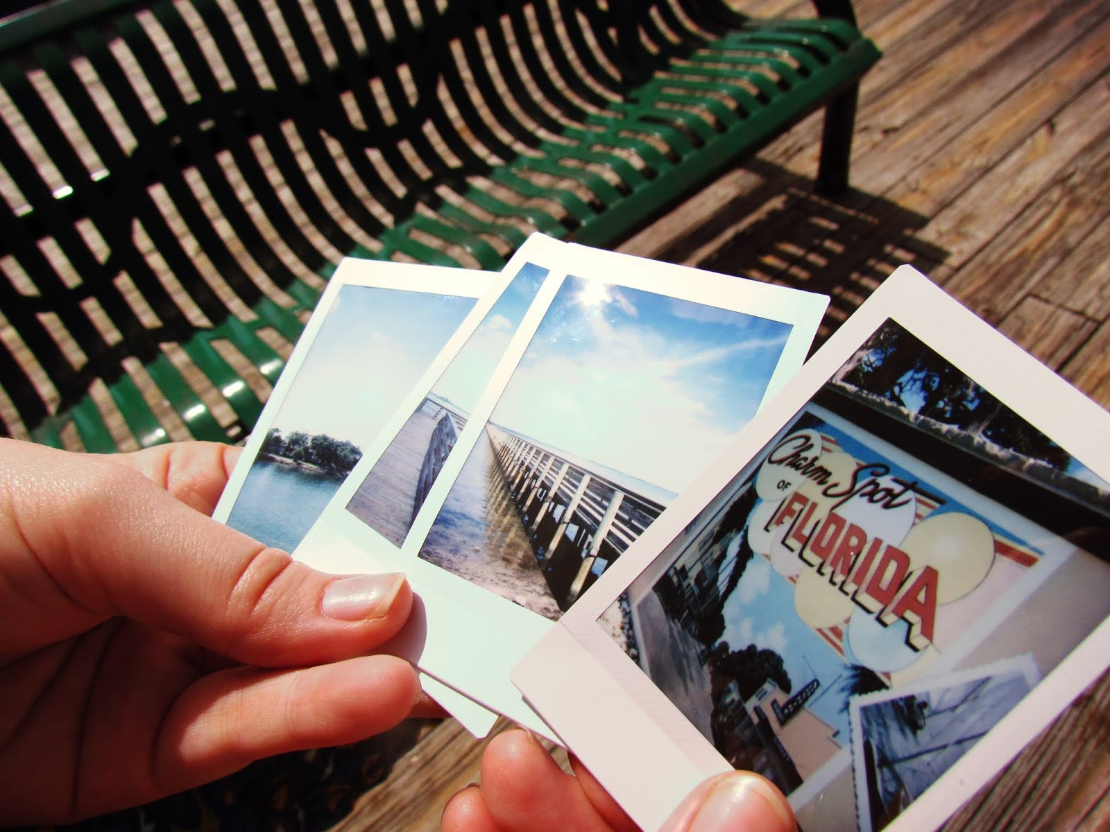 Chloe's Instax Instant Picture Collection for Travel Adventures