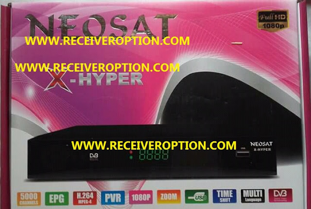 NEOSAT X-HYPER HD RECEIVER POWERVU KEY NEW SOFTWARE