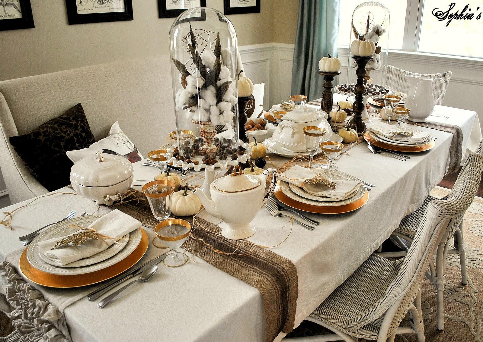 sophia s thanksgiving table
