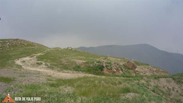 Punto más alto - Camino Inca  Chontay a California