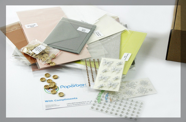 Paper Supplies from Paperbox