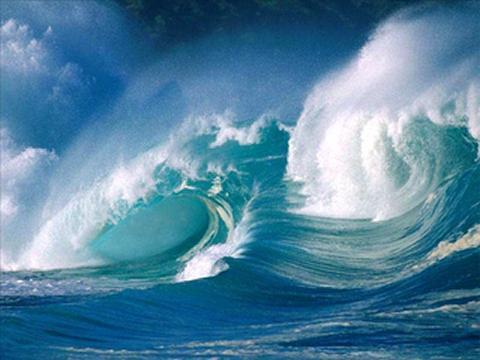 Olas de mar. Energía Mareomotriz