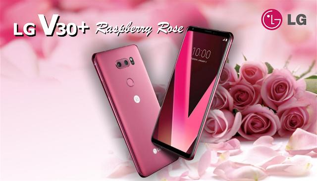 lg v30+ raspberry rose, lg v30+, spesifikasi dan harga lg v30+ raspberry rose