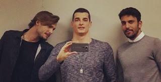 Emanuele e Giovanni insieme in foto