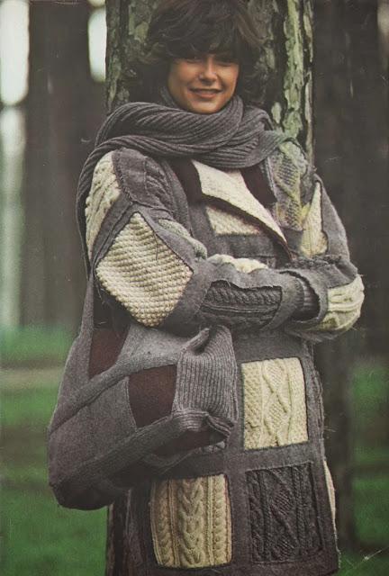 The Vintage Pattern Files: Free 1970's Knitting Pattern - Pulls flous, pulls fous
