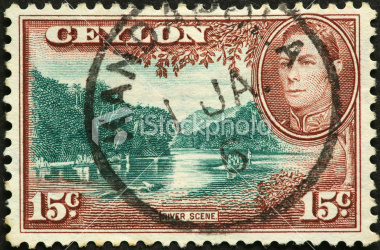 OLD Is GOLD: Ceylon Stamp