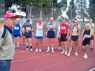 Ο ΣΕΒΑΣ Πιερίας στη Λάρισα, για το Πανελλήνιο Πρωτάθλημα Βετεράνων Αθλητών - Αθλητριών Στίβου