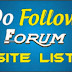 Daftar 1600 forum do follow