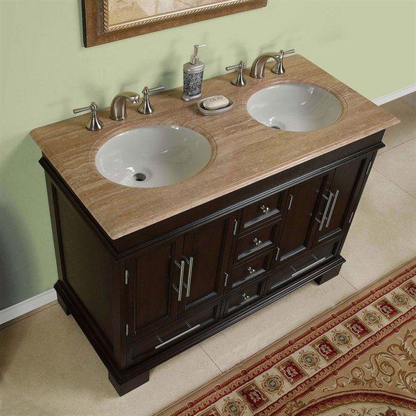 Cabinets And Vanities 48 Inch Double Sink Vanity