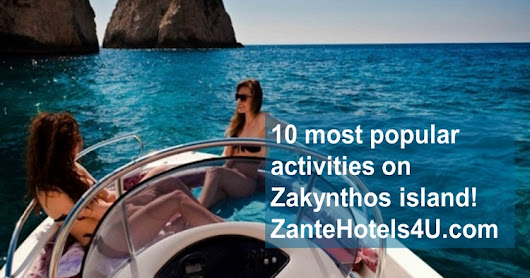 10 most popular activities on Zakynthos island!