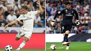Luka Modric y Thibaus Courtouis los mejores para la IFFHS