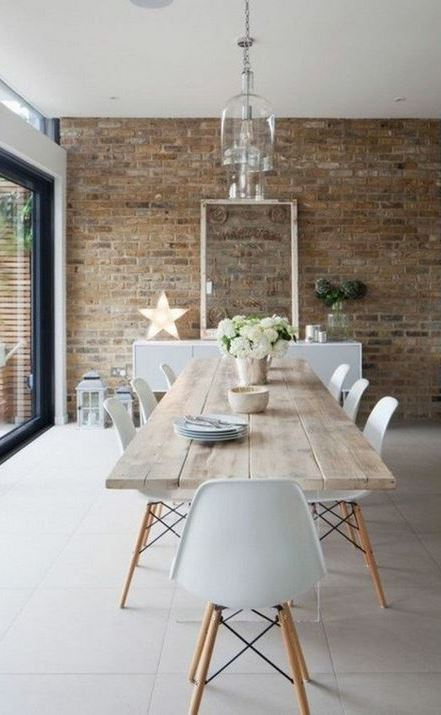 The dining room tabular array together with its house with the article of furniture The thirty Modern Design Ideas for Every Room inward Your Home