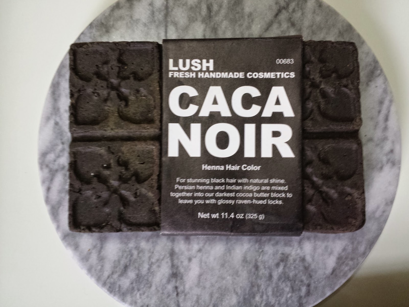 Au Naturale Product Review And Demo Lush Caca Noir