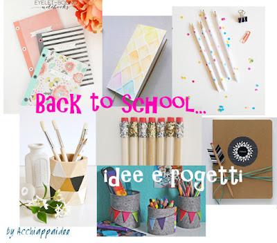 Back to school - progetti e idee