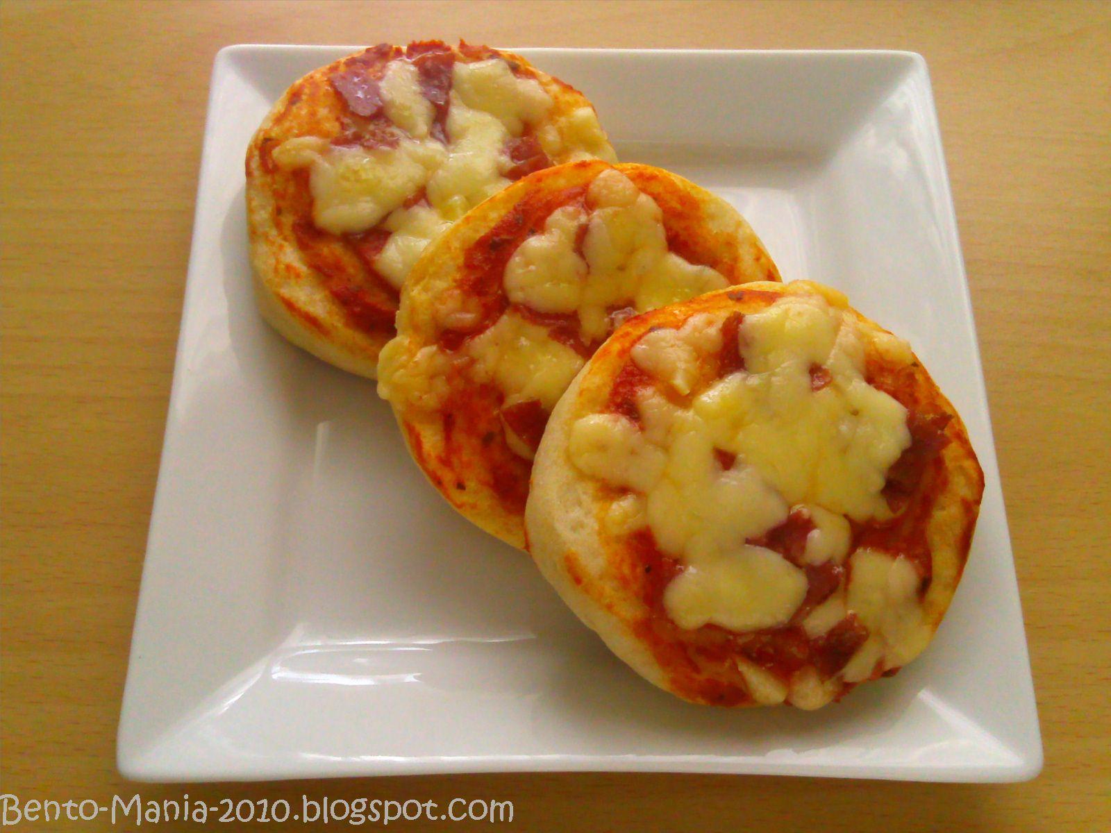 bento mania verr ckt nach der japanischen lunch box rezept superschnelle mini pizza f rs bento. Black Bedroom Furniture Sets. Home Design Ideas