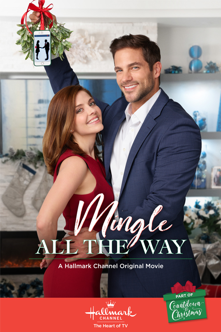 mingle all the way a hallmark channel countdown to christmas movie starring jen lilley brant daugherty and lindsay wagner - Finding John Christmas Cast