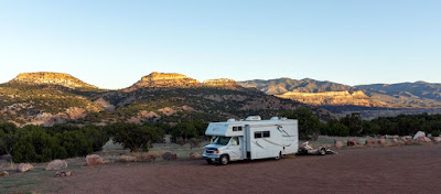 Boondocking again at the Hugo SWA (State Wildlife Area)