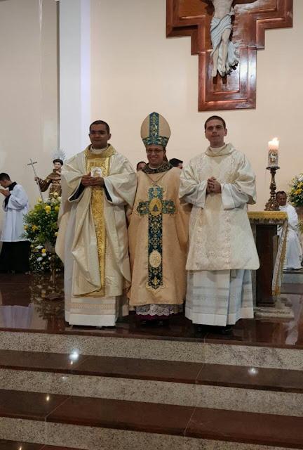 Frei Alessandro Rodrigues, OFMConv é ordenado presbítero em Fortaleza/CE