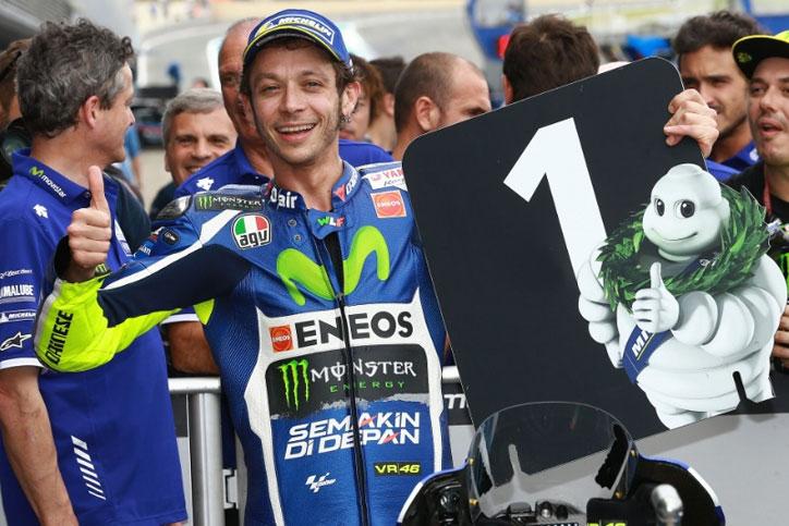 Selebrasi Valentino Rossi