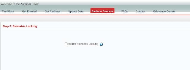 Enable Biometric Unlocking