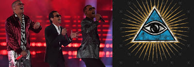 Latin Grammys 2018 simbología #illuminati: sirvientes satánicos Bad Bunny, Maluma, Nicky Jam #Katecon2006