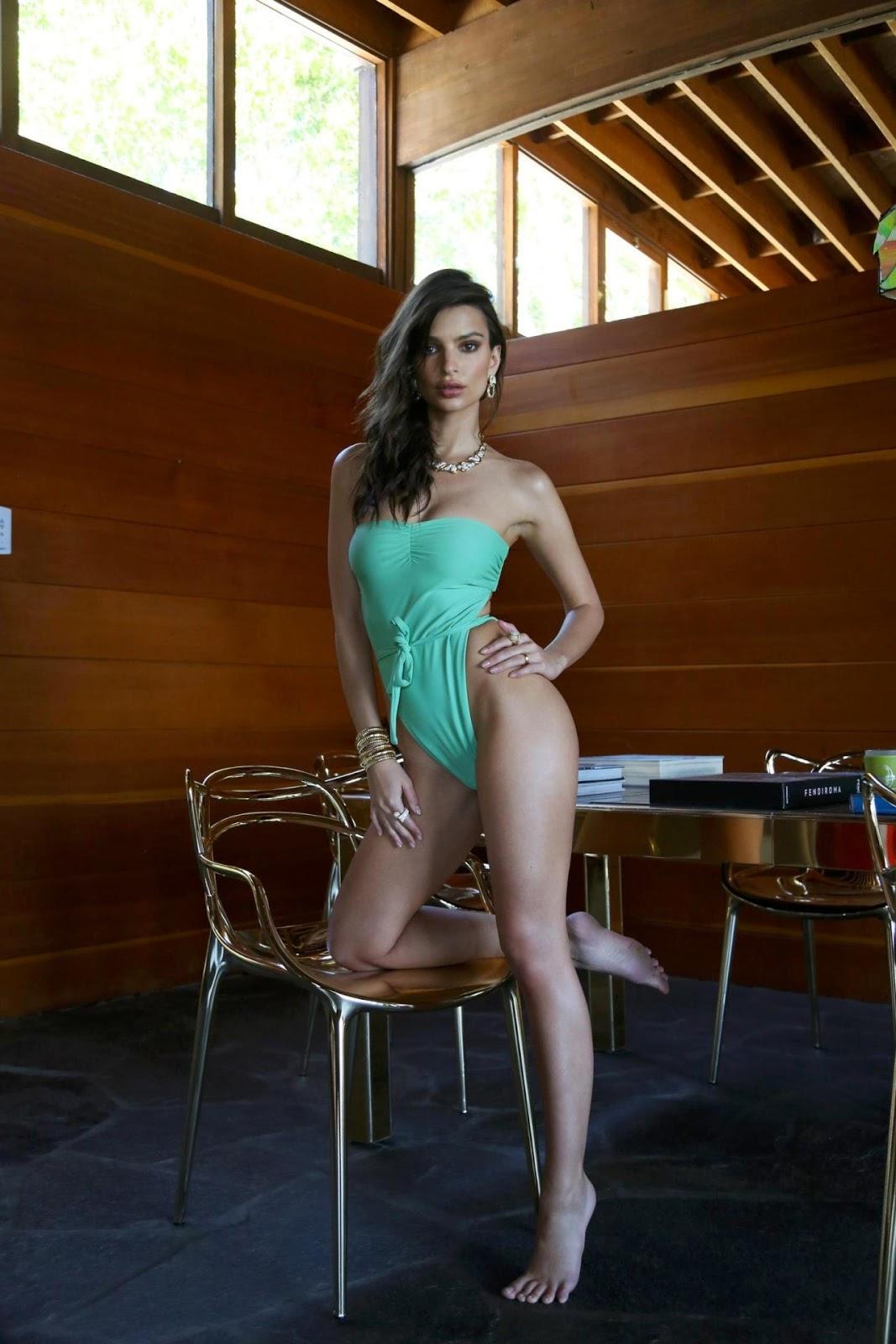 Emily Ratajkowski - Inamorata Swimwear Campaign