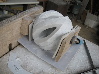 The making of sculpture Rotation10