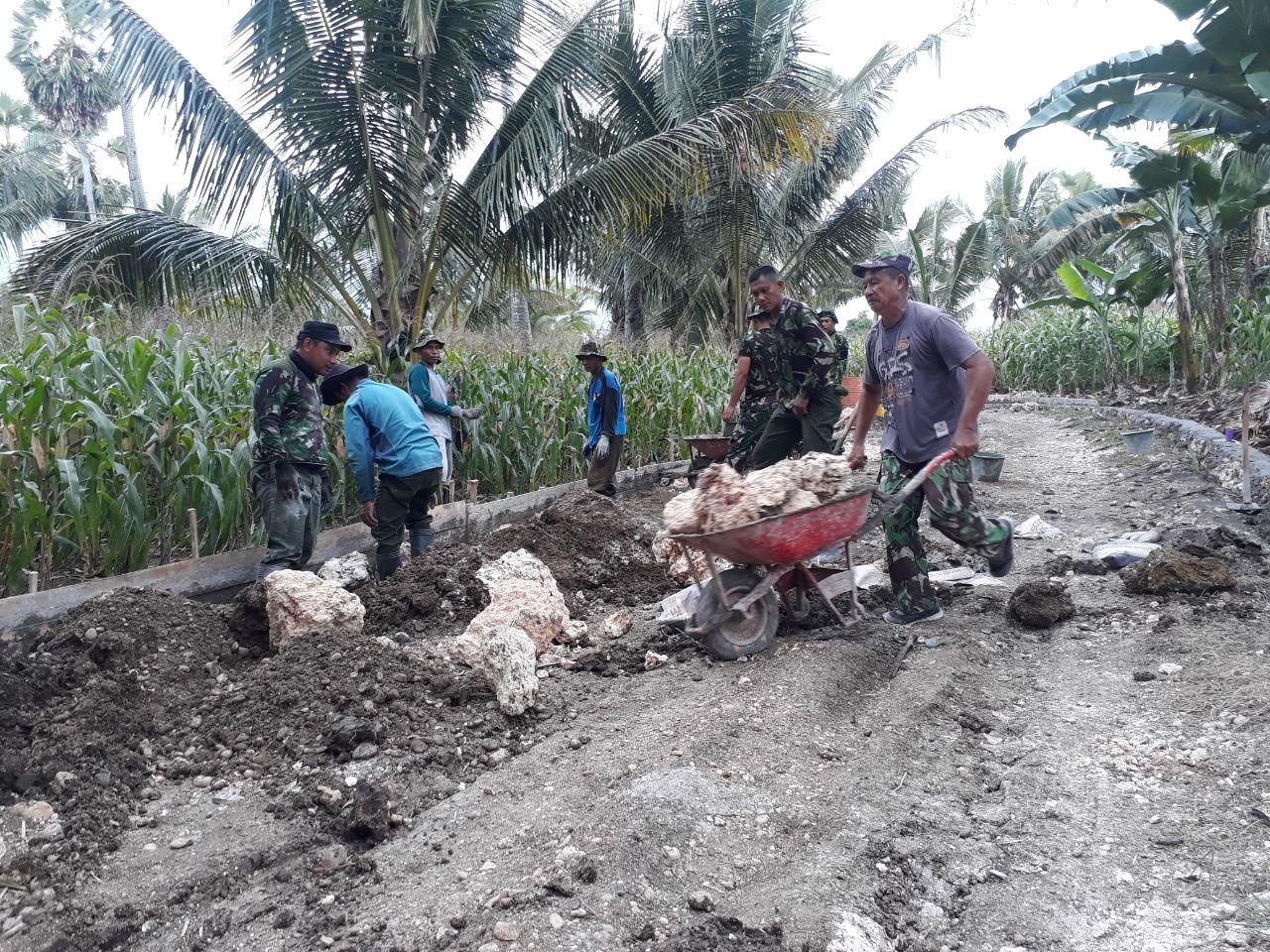 Dandim 1407/Bone : TMMD Bukan Hanya Kontribusi TNI Terhadap Rakyat Tetapi Ada Pesan Moral Didalamnya