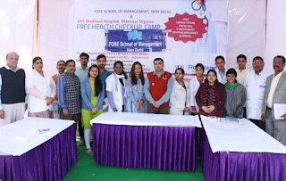 Fore Organized Health Camp for Villagers at Manesar (Haryana)