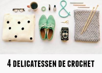 3 Guia diy,s cuatro delicatessen crochet o tricot