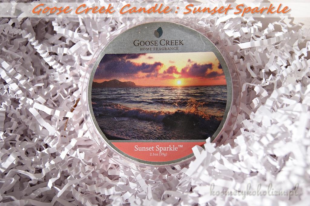 Goose Creek Candle | Sunset Sparkle | PachnącaWanna.pl | Świecowa Niedziela