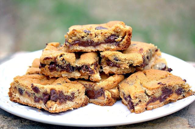 Stuffed Cookie Bars