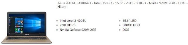 Berikut ini merupakan ulasan gosip artikel mengenai daftar harga tipe laptop Asus Nvi Harga Laptop Asus Core i3 VGA Nvidia Terbaru