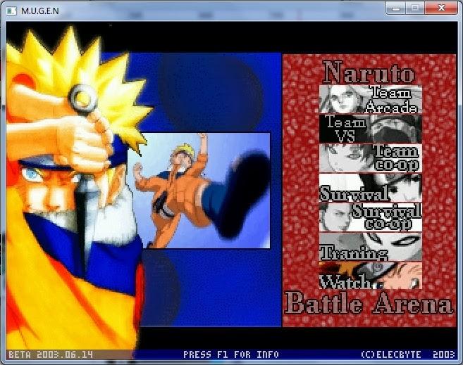 Naruto battle arena 2 mugen free download pc - ormoisica's blog