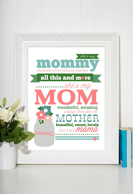 "FREE ""Mother's Day"" Printable by Jen Gallacher from www.jengallacher.com. #mothersdayprintable #freeprintable #momprint"